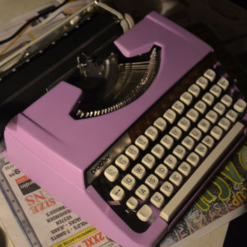 RESERVEC/// Custom made Brother 900 Deluxe - Working Typewriter