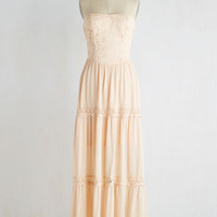 Beach Poise Dress in Peach | Mod Retro Vintage Dresses | ModCloth.com