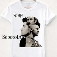 the script new band ScreenPrint, Short sleeved, funny shirt for T shirt Men and T shirt Girl