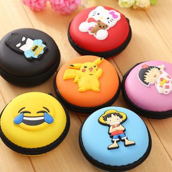 2017New Novelty Super Heroes Silicone Coin Purse Key Wallet Mini Storage Organizer Bag Dual Earphone Holder Kids Birthday Gift