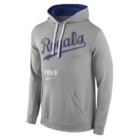 Nike Pullover (MLB Royals) Men's Performance Hoodie Size Small