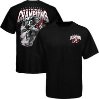 Alabama Crimson Tide 2012 BCS National Champions True Trooper T-Shirt - Black