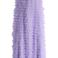 Swan Cloud Maxi Skirt in Purple  Purple