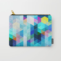 Colorful Pattern Carry-All Pouch by tmarchev