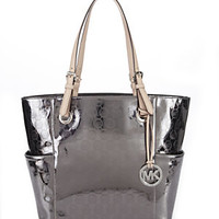 MICHAEL Michael Kors Jet Set Monogram East/West Tote Bag | Dillard's Mobile