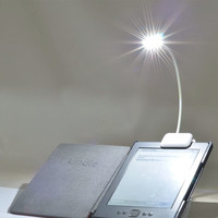 3W LED E-reader Clip with Flexible Read Light lamp for Ebook Ereader Kindle for Pocketbook for Kobo for tolino Reading Lamp