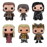 Game of Thrones Pop! Television Figurines  2nd Edition [Set of 6]