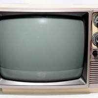 Vintage 1984 General Electric Television