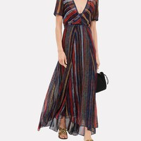 Striped Lurex Dress