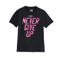 Under Armour Boys Power In Pink T-Shirt