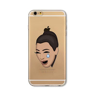 Crying Kim K Iphone Case