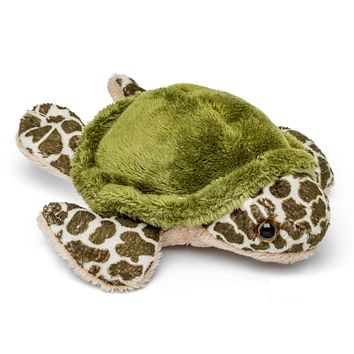 "Single Sea Turtle Mini 4"" Small Stuffed Animal, Ocean Animal Toy, Sea Party Favor for Kids"