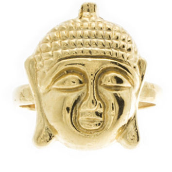 Buddha Knuckle Ring