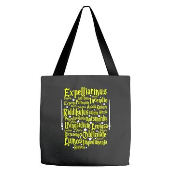Expelliarmus Harry Potter Spell Tote Bags