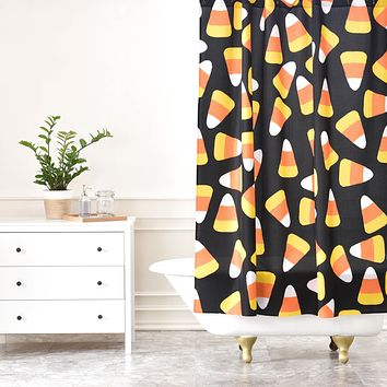 Lisa Argyropoulos Candy Corn Jumble Shower Curtain