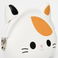 ASOS Jelly Ginger Cat Coin Purse