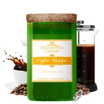 Coffee Shoppe | Jewelry Wine Candle®
