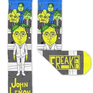 John Lemon Unisex Crew Socks