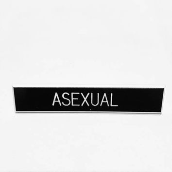 Asexual pin, lgbt accessory, ace pin