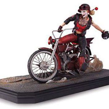 DC Collectibles: Gotham City Garage - Harley Quinn Statue
