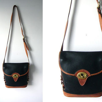 vintage Dooney & Bourke pebbled leather purse by RaggedandWrecked