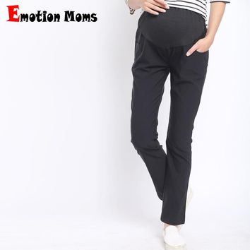 Emotion Moms Maternity Pants&Capris pregnancy Maternity trousers For Pregnant Women Pregnancy Pants Gestante Pantalones M-XXL