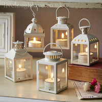Five Piece Assorted Lantern Set, live laugh love