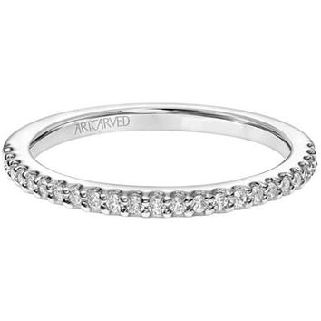 "Artcarved ""Paige"" Straight Prong Set Wedding Ring"