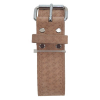 94054 - 2 Inch Wide Work Belt in Embossed Heavy Top Grain Leather