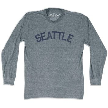 Seattle City Vintage Long Sleeve T-Shirt