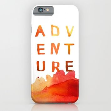 A D V E N T U R E iPhone & iPod Case by Sara Eshak