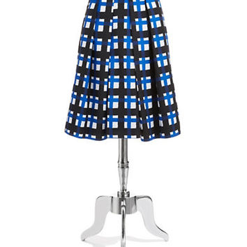 Pink Tartan Tabitha Plaid Pleat Skirt