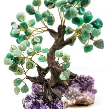 Aventurine Bonsai Tree