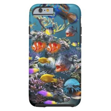 Aquarium Underwater Fish Tough iPhone 6 Case