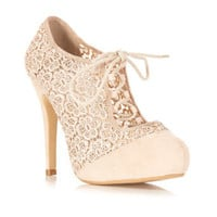 Suzy Nude Town Shoe - Heels  - Shoes