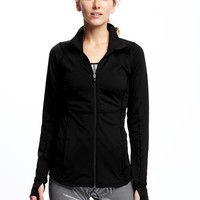 Full-Zip Compression Jacket for Women|old-navy
