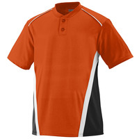 Augusta 1526 RBI Jersey - Youth - Orange Black White