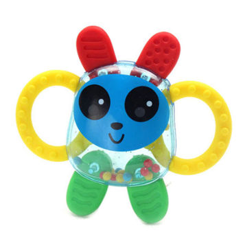 Baby Ratlle Toys Green Teether Toy(Cute Bunny) Age for 3 Months and up