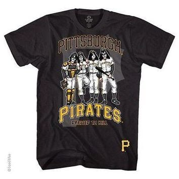 Pittsburgh Pirates Dressed To Kill Kiss T-Shirt
