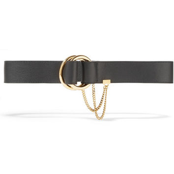 Chloé - Carly textured-leather waist belt