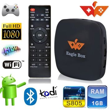 SmartBB(TM) Amlogic S805 Quad Core Xbmc Android TV BOX 4.4 Game- Box Smart 1080p HDMI Tv Streaming Box Kodi Xbmc 1gb/8gb