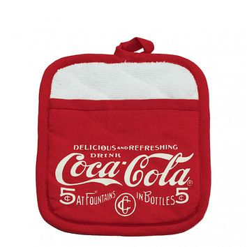 Authentic Coca-Cola Coke Pre-1910 Pot Holder New with Tags