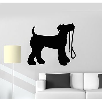Vinyl Wall Decal Dog Pets Puppy Animal Nursery Decor Stickers Mural (g502)
