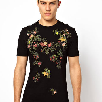 Vivienne Westwood Anglomania / Lee | Vivienne Westwood Anglomania for Lee T-Shirt Floral Print at ASOS