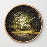 On the road again Wall Clock by HappyMelvin