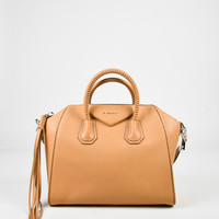 "Givenchy Tan Grained Sugar Leather Medium ""Antigona"" Satchel Bag,clutch original gift ideas Accessories Novelty"