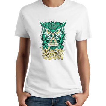 Bmth Owl Woman T-Shirt