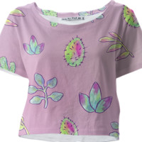 Cactus cropped tee