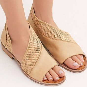 8ba3188e948 Women s Free People Textured Mont Blanc Sandal