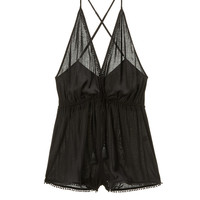 Plunge Cover-up Romper - Victoria's Secret